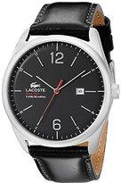 Lacoste Men's 2010748 Austin Analog Display Japanese Quartz Black Watch