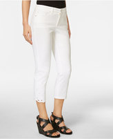 Charter Club Bristol Embroidered Capri Jeans, Created for Macy's