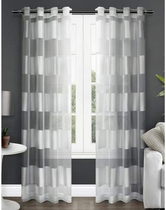Home Outfitters Navaro Two-Pack Window Curtains