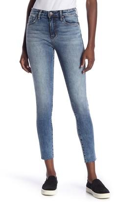STS Blue Ellie High Rise Raw Hem Skinny Jeans