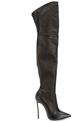 Casadei Blade Thigh-High Boots