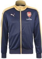 Puma Arsenal Fc Tracksuit Top Black Iris/victory Gold