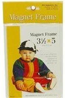 "MCS M C S Magnetic Picture Frame for 3-1/2"" x 5"" Photos."