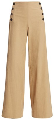 Rosie Assoulin Wide-Leg Sailor Pants