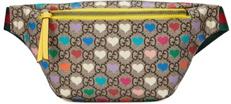 Gucci Children's GG hearts belt bag