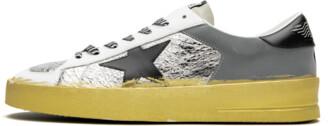 Golden Goose Stardan LTD 'Silver Leather' Shoes - Size 40