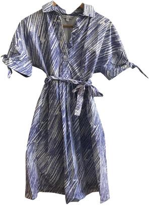 Vika Gazinskaya Blue Polyester Dresses