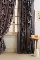 Anthropologie Wandering Pleats Curtain