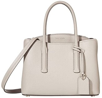 Kate Spade Margaux Medium Satchel (Black) Satchel Handbags