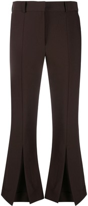 Rokh Cropped Flared Trousers