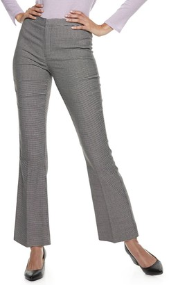 Nine West Women's Madison Cropped Kick Flare Pants