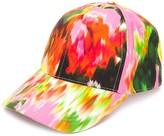 MSGM Floral-Print Baseball Cap