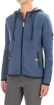 Obermeyer Charlie Knit Full-Zip Hoodie - Wool, Fully Lined (For Women)