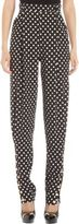 Ungaro Polka Dot Pleated Front Trousers