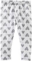 Osh Kosh Oshkosh Heart-Print Leggings - Girls 4-6x