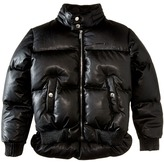 DSQUARED2 Leather Puffer Jacket Boy's Coat