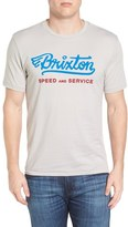 Brixton Men's Mach Graphic T-Shirt