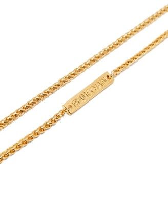 Frame Chain Monkey 18kt Gold-plated Chain - Gold