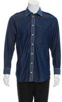 Dolce & Gabbana Chambray Button-Up Shirt
