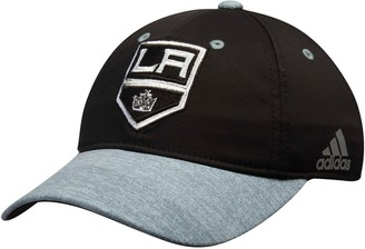 adidas Women's Black/Gray Los Angeles Kings Unstructured Alpha Adjustable Hat