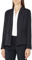 Reiss Bailey Open-Front Blazer