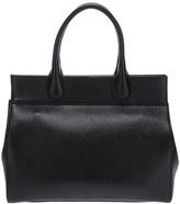 Alaia calf leather tote bag
