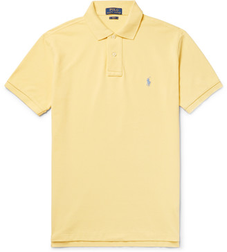 Polo Ralph Lauren Slim-Fit Cotton-Pique Polo Shirt