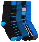 Ben Sherman Original Crew Sock Gift Box - Pack of 5