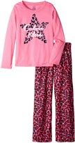 Calvin Klein Little Girls' Cheetah Star Sleep Set