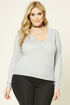 Forever 21 Plus Size V-Neck Sweater