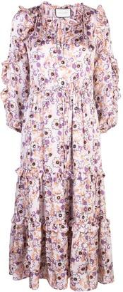 Alexis Isbel floral-print dress