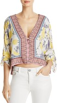 Free People Freshly Squeezed Printed Top