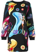 Jeremy Scott printed sweatshirt dress