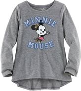 Disney's Minnie Mouse Toddler Girl Ruffle Back High-Low Tee by Jumping Beans®