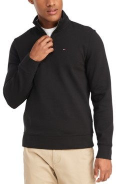 Tommy Hilfiger Men's French Rib Quarter-Zip Pullover, Created for Macy's