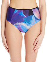 Ted Baker Women's Tanvis Cosmic Bloom High-Waisted Bikini Bottom