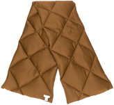 Max Mara oversized quilted scarf