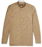 Freemans Sporting Club - Grandad-collar Linen Shirt