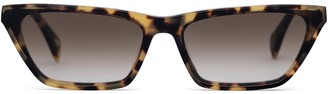 Larsson & Jennings Light Havana Cat Eye Sunglasses