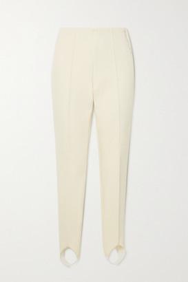 Bogner Elaine Stretch Stirrup Ski Pants - White