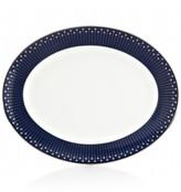 Kate Spade Mercer Drive Platinum Oval Platter
