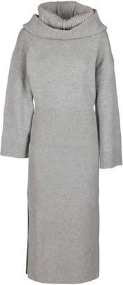 Kenzo Grey Wool Dress