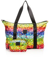 Terez Girls' Rainbow Emoji Collapsible Tote Bag