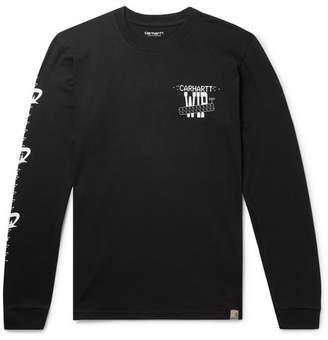 Carhartt Wip Printed Cotton-Jersey T-Shirt