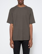 Topman Washed Black Textured Oversized T-Shirt