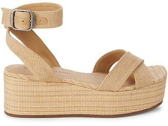 Lucky Brand Bikaro Ankle-Strap Wedge Sandals
