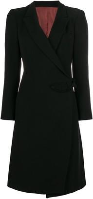 Jean Paul Gaultier Pre Owned wrap midi coat