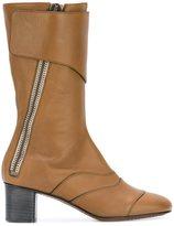 Chloé 'Lexie' mid-calf boots - women - Leather - 37.5
