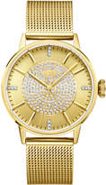 JBW Women's Belle Diamond 18K Gold-Plated Stainless Steel Watch, 36mm