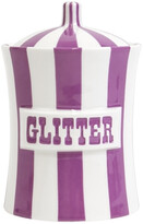 Jonathan Adler Vice Canister - Glitter - Purple/White
